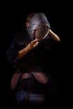 Πολεμιστής Kendo Στοκ εικόνα με δικαίωμα ελεύθερης χρήσης