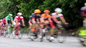 Ποδηλάτες σκηνικών φυλών φιλμ μικρού μήκους