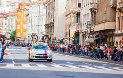 Ποδηλάτης, Giro d'Italia Στοκ Εικόνα
