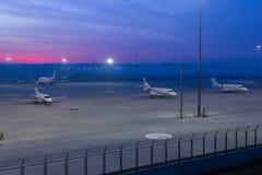 Ποδιά αερολιμένων Στοκ Εικόνα