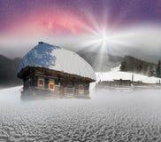 Πολικά σπίτια νεράιδων Στοκ εικόνες με δικαίωμα ελεύθερης χρήσης
