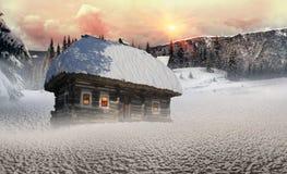 Πολικά σπίτια νεράιδων Στοκ φωτογραφίες με δικαίωμα ελεύθερης χρήσης