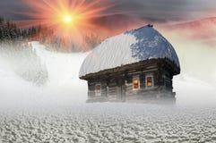 Πολικά σπίτια νεράιδων Στοκ Φωτογραφίες