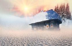Πολικά σπίτια νεράιδων Στοκ Εικόνες