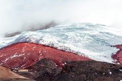 Πολικός παγετώνας ηφαιστείων Cotopaxi Στοκ φωτογραφία με δικαίωμα ελεύθερης χρήσης