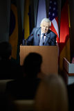 Πολιτικός ηγέτης Στοκ εικόνα με δικαίωμα ελεύθερης χρήσης