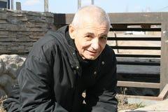 Πολιτικός Konstantin Kosyakin κατά τη διάρκεια της εκστρατείας των υπερασπιστών του δάσους Khimki Στοκ φωτογραφία με δικαίωμα ελεύθερης χρήσης