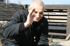 Πολιτικός Konstantin Kosyakin κατά τη διάρκεια της εκστρατείας των υπερασπιστών του δάσους Khimki Στοκ Εικόνες