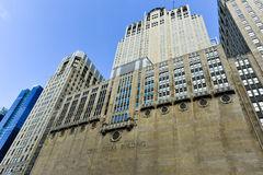 Πολιτικό κτήριο οπερών - Σικάγο στοκ φωτογραφία