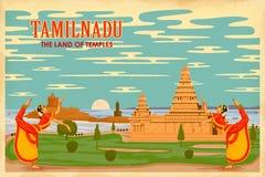 Πολιτισμός Tamilnadu διανυσματική απεικόνιση