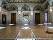 Πολιτιστικό κέντρο του Σικάγου κάτω από το θόλο στοκ φωτογραφίες