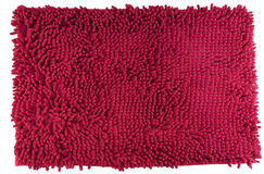Ποδιών μεταλλουργικών ξυστρών χρώμα που απομονώνεται κόκκινο Στοκ φωτογραφία με δικαίωμα ελεύθερης χρήσης