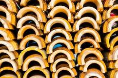 Πολλοί δίνουν τη στέγη Στοκ φωτογραφία με δικαίωμα ελεύθερης χρήσης