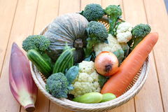 Πολλοί τύποι λαχανικών Στοκ Εικόνες