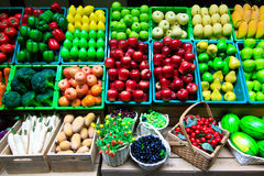 Πολλοί τύπος φρούτων Στοκ Εικόνα