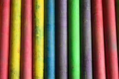 Πολλοί χρωματίζουν την κιμωλία Στοκ Εικόνες
