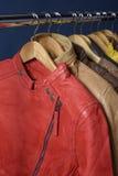 Πολλοί χρωματισμένο σακάκι δέρματος Στοκ εικόνα με δικαίωμα ελεύθερης χρήσης