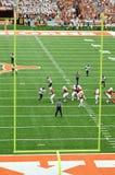 Ποδοσφαιρικό παιχνίδι κολλεγίων του Τέξας Longhorns Στοκ φωτογραφία με δικαίωμα ελεύθερης χρήσης