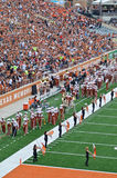 Ποδοσφαιρικό παιχνίδι κολλεγίων του Τέξας Longhorns Στοκ φωτογραφίες με δικαίωμα ελεύθερης χρήσης