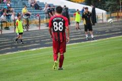 ποδοσφαιρικό παιχνίδι ποδόσφαιρο Στοκ Φωτογραφία