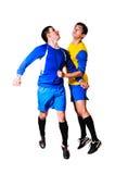 Ποδοσφαιριστές Στοκ φωτογραφία με δικαίωμα ελεύθερης χρήσης