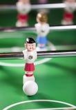 Ποδοσφαιριστής παιχνιδιών με μια σφαίρα Στοκ φωτογραφίες με δικαίωμα ελεύθερης χρήσης