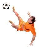 Ποδοσφαιριστής ποδοσφαίρου Στοκ φωτογραφία με δικαίωμα ελεύθερης χρήσης