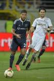 Ποδοσφαιριστής - τιμές Bahlouli Στοκ Εικόνες