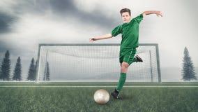 Ποδοσφαιριστής στοκ φωτογραφία