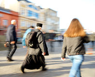 Πολυάσχολοι άνθρωποι πόλεων Στοκ Εικόνες