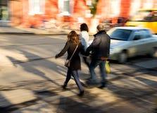 Πολυάσχολοι άνθρωποι πόλεων Στοκ εικόνα με δικαίωμα ελεύθερης χρήσης