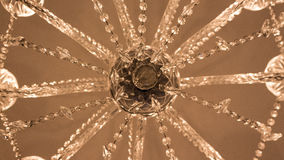 Πολυέλαιος γυαλιού στοκ εικόνα με δικαίωμα ελεύθερης χρήσης