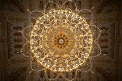 Πολυέλαιος στο παλάτι της Catherine σε Tsarkoe Selo στη Αγία Πετρούπολη, Ρωσία στοκ φωτογραφία με δικαίωμα ελεύθερης χρήσης