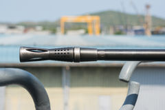 Πολυβόλο θωρηκτών ναυτικού Στοκ φωτογραφία με δικαίωμα ελεύθερης χρήσης