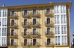 Πολυκατοικία στη Βαλένθια Ισπανία Στοκ εικόνες με δικαίωμα ελεύθερης χρήσης