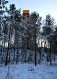 πολυκατοικία στο πάρκο Στοκ φωτογραφία με δικαίωμα ελεύθερης χρήσης