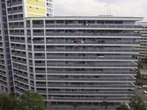 Πολυκατοικία HDB στη Σιγκαπούρη Στοκ Εικόνα