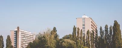 Πολυκατοικίες Στοκ Εικόνα
