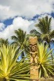 Πολυνησιακό Tiki στοκ εικόνες