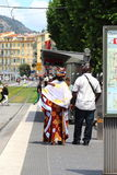 Πολυπολιτισμική ζωή στη Νίκαια, Γαλλία Στοκ εικόνες με δικαίωμα ελεύθερης χρήσης