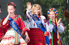 Πολυπολιτισμικό φεστιβάλ Folklorama Winnipeg Στοκ Εικόνα