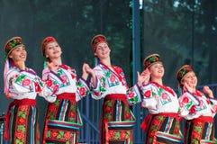 Πολυπολιτισμικό φεστιβάλ Folklorama Winnipeg Στοκ Εικόνες