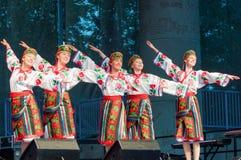 Πολυπολιτισμικό φεστιβάλ Folklorama Winnipeg Στοκ φωτογραφία με δικαίωμα ελεύθερης χρήσης