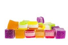 Πολυστρωματική ζελατίνα με πολλά χρώματα στοκ φωτογραφία με δικαίωμα ελεύθερης χρήσης