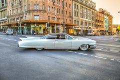 Πολυτέλεια εκλεκτής ποιότητας κλασικό Cadillac Στοκ εικόνες με δικαίωμα ελεύθερης χρήσης