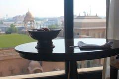 πολυτέλεια ξενοδοχείων σχεδίου πνευματικών δικαιωμάτων το πρόγραμμα αριθ Στοκ Εικόνα