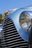 Πολυτελής παλαιά γαλλική μπροστινή λεπτομέρεια αυτοκινήτων Στοκ Φωτογραφία