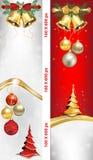 Πολυτελή Χριστούγεννα και νέα εμβλήματα Ιστού έτους Στοκ φωτογραφία με δικαίωμα ελεύθερης χρήσης