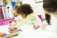 Πολυφυλετικός σχεδιασμός παιδιών Στοκ Εικόνες