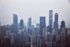 Πολυόροφο κτίριο Chongqing Στοκ Εικόνες